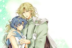 Sailor Mercury and Zoisite