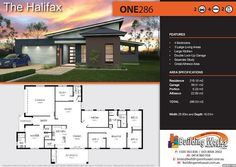 THE HALIFAX - Acreage Plans -4 bedrooms, 3 large living areas, large kitchen, double garage, study, great alfresco area, ensuite & WIR, bathroom, portico and skillion roof. Total building 286.53m2. Building width: 25.83m2, Building depth: 16.01m2. Residence: 218.10m2 Garage: 39.31m2 Portico: 6.23m2 Alfresco: 22.89m2 Our plans can be changed to accommodate our clients requirements and price point. That's what makes our homes unique and craftsman built! #singlestoreyhomeplans @buildingworksau