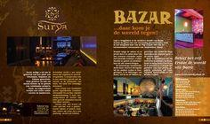 Advertentie restaurant Surya en Bazar.