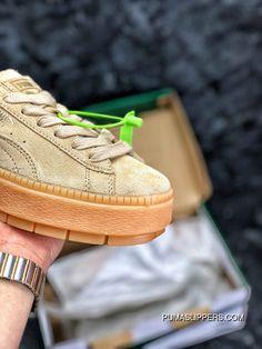 e2ffbefd2e8 Authentic Puma SUEDE PLATFORM Flatform Shoes Height-Increase Shoes SKU  367259-02 Super Deals