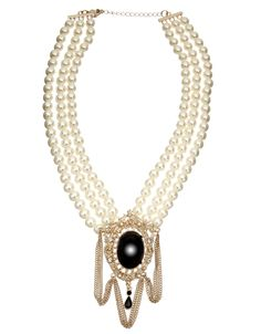 Victoriana Brooch Collar Necklace