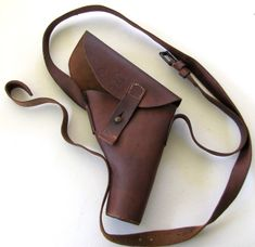 Vintage WW2 Australian Made 1943 Holster by Julius Cohn & co Adelaide - The Collectors Bag