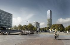 #architecture#visualization#eidhoveen#tower#sunny#rendering