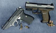 Walther pistols P5 (left) and P99 (right)