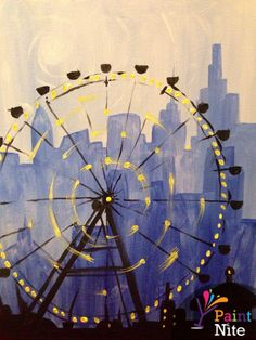Paint Nite Edmonton | Original Joe's, Varsity Row - Edmonton 02/22/2015