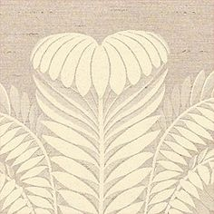 PALM DAMASK, Pewter, T9378, Collection Damask Resource from Thibaut