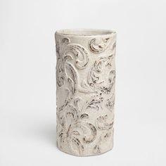 TERRACOTTA VASE WITH A RAISED DESIGN - Vases - Decoration | Zara Home Spain