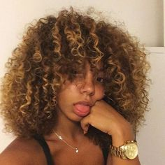 afro, beautiful, black girls, british, curly, curly hair, fro ...