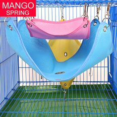 Rabbit Hamster Totoro Ferret Guinea Pig Chinchilla Cage Hammock Small Pet Puppy Bed Cover Bag Blankets Mesh Bed
