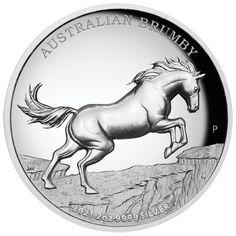Bullion Coins, Silver Bullion, Mint Shop, Gold And Silver Coins, Antique Coins, Australian Animals, Pure Platinum, Effigy, Wild Horses