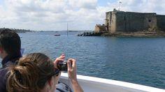 Pour aller au Château du Taureau en Baie de Morlaix, choisissez Plougasnou (Le Diben), la traversée est plus longue.