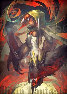 An Zhong, Pixiv Fantasia V Pixiv Fantasia, Master Chief, Fantasy, Anime, Painting, Fictional Characters, Type 3, Sword, Count