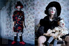 mechanical dolls by tim walker for vogue italia, october 2011