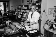 """Manson Whitlock, Typewriter Repairman, Dies at 96 - NYTimes.com """"Mr. Whitlock was often described as America's oldest typewriter repairman. He was inarguably one of the country's longest-serving.   Over time he fixed more than 300,000 machines, tending manuals lovingly, electrics grudgingly and computers never."""""""