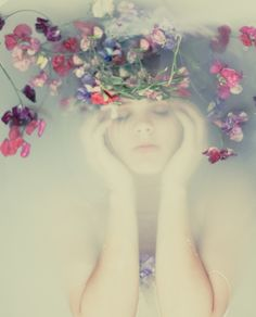 """""""She used herself with a number of supposed fits, hallucinations, caperings, warblings, and the like, nothing being lacking to the impersonation but Ophelia's wild flowers."""""""