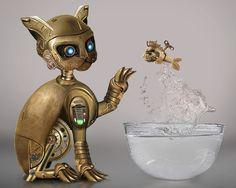 steampunk_kitty_by_linzee777-d3hdggj.jpg (600×480)