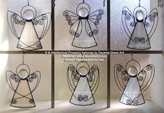 Angels - White Stained Glass https://www.facebook.com/groups/TayamaCrafts/