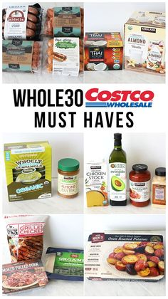 This Costco Must Haves list will make your challenge much easier! Meat, vegetables and everything you need to succeed! This Costco Must Haves list will make your challenge much easier! Meat, vegetables and everything you need to succeed! Whole 30 Snacks, Whole Foods, Whole 30 Diet, Paleo Whole 30, Whole 30 Meals, Whole 30 Vegetarian, Vegetarian Diets, Planning Budget, Meal Planning