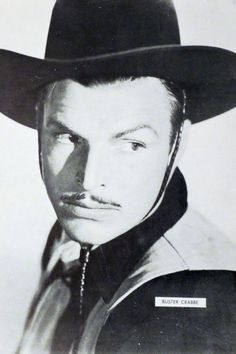 "Publicity photo of Buster as Nevada in ""Forlorn River "" (1937)"