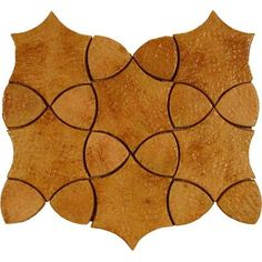 Screen Porch flooring - terracotta mosaic tiles....Cometa Rocca 10 in. x 13 in. Terra Cotta Mosaic Floor and Wall Tile