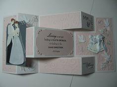 Wedding Tri-Fold Shutter Card