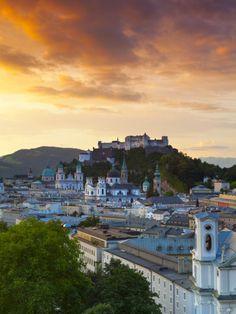 Sunrise, Salzburg, Salzkammergut, Austria