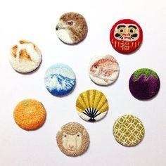 91 - 100 / by ipnot Hook Punch, Punch Tool, Felt Embroidery, Embroidery Designs, Punch Needle Patterns, Craft Punches, Polymer Clay Flowers, Cute Little Animals, Rug Hooking