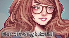 A long video, but this was requested a lot! This is how I personally draw and paint hair, I hope it's somewhat useful to you! Made on a wacom cintiq companio...