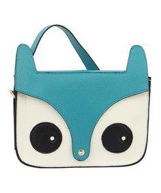Look at this #zulilyfind! Mellow World Blue Critter Crossbody Bag by Mellow World #zulilyfinds