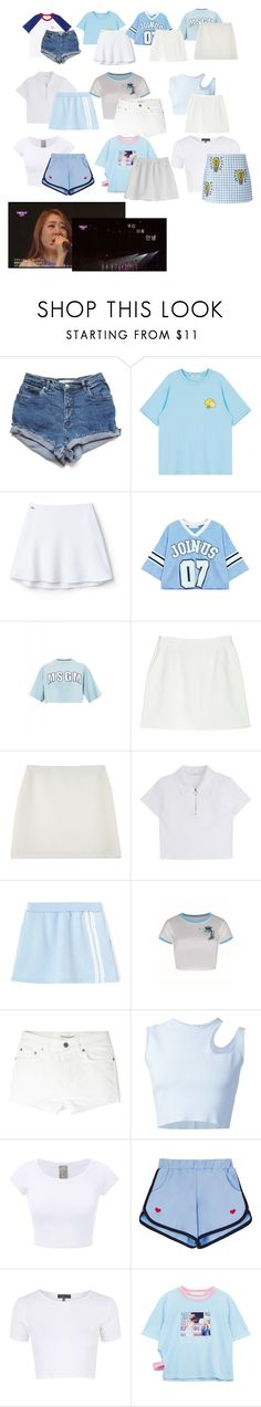 """[ElevenOfficial] TimeSlip IOI Last Day - Please Don't Cry"" by eleven-official ❤ liked on Polyvore featuring Lacoste L!VE, Chicnova Fashion, MSGM, Balenciaga, StyleNanda, WithChic, Yves Saint Laurent, Thierry Mugler, Topshop and Tara Jarmon"