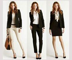 Saca el máximo partido a tus prendas de oficina y combínalas creando looks distintos.