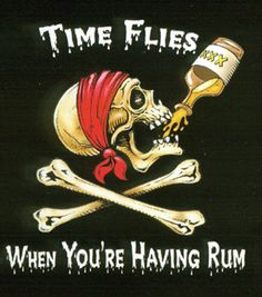 All for Rhum and Rhum for all. Hoist the Jolly Roger and Batten down the Hatches. The Rhum is out and the party has started. Pirate Signs, Pirate Art, Pirate Skull, Pirate Life, Pirate Decor, Pirate Quotes, Pirate Halloween, Halloween Camping, My Champion