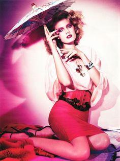 Constance Jablonski for Vogue Germany by Alexi Lubomirski