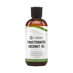 It Works! Fractionated Coconut Oil | It Works