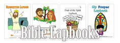 Free Bible Lapbooks We've got some fantastic resources for teaching your children about key bible characters and concepts.  You'll find Adam and Eve, Bible Basics, Creation, Daniel, Eas…