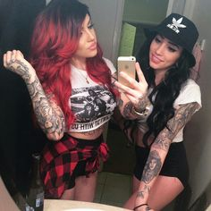Tatted best friends