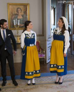 Queens & Princesses - National Day Reception at the Royal Palace