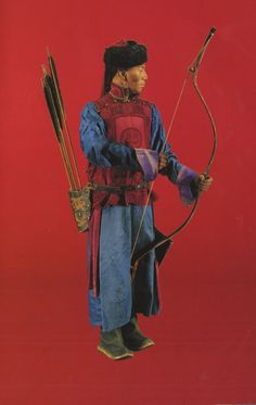 Mongolian warrior. National Museum of Copenhagen. Denmark
