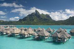 Polinesia Francese isola di Bora Bora
