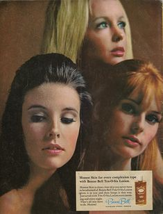 Bonne Bell 1966 Print Ad Ten O-Six Face Lotion by saffronfields Vintage Makeup Ads, Vintage Beauty, Vintage Ads, Vintage Prints, Vintage Fashion, Beauty Ad, Beauty Products, Beauty Stuff, Beauty Ideas