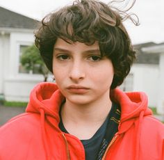 Finn Wolfhard. How is this child so beautiful?