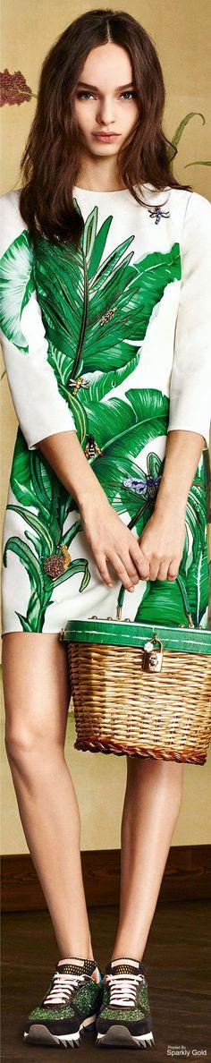 bdca4866e30 www.2locos.com D amp G Fall 2016 Botanical Garden Dolce And Gabbana 2017