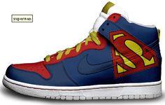 Orbit Cinta Anexandria: Nike Dunk High Superman Shoes