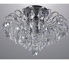 Plafon LAMPA sufitowa FIRENZA MD30196/4 Italux klasyczna OPRAWA kryształowa crystal przezroczysta