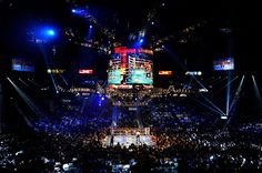 The MGM Grand Garden Arena is home to concerts championship boxing