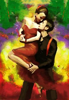 Browse through images in Corporate Art Task Force's Flamenco Dancers collection. The Collection in this gallery is dedicated to the beauty of the flamenco dance. Couple Painting, Figure Painting, Tango Art, Dance Paintings, Flamenco Dancers, Shall We Dance, Salsa Dancing, Ballroom Dancing, Thing 1