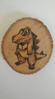 Check out this item in my Etsy shop https://www.etsy.com/ca/listing/463908942/totodile-pokemon-wood-burning