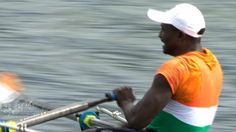 "Niger rower Hammadou Djibo Issaka  received a rapturous reception from the Eton Dorney crowd despite finishing last in the men's singles sculls.  The 35-year-old, who has been nicknamed ""Issaka the Otter,"" finished the 2,000m stretch in just under nine minutes in a race to settle the bottom three places.  Issaka only took up rowing three months ago and trained for his Olympic debut in an old fishing boat.   He now plans to compete at the 2016 Games in Brazil."