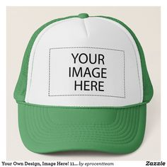 Your Own Design, Image Here! Popular Colors, Custom Hats, Design Your Own, Your Image, Color Combinations, Hot Pink, Baseball Hats, Stuff To Buy, Gifts