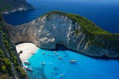 그리스 자퀸토스 섬